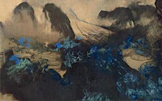 苏宁3.036亿元竞得元画 齐白石山水拍出近两亿