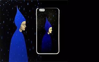 手机壳也要玩儿艺术 可惜的是……