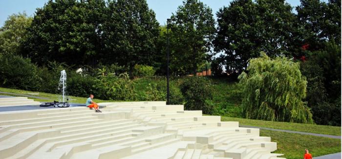 立陶宛的 Jurbarkas公园