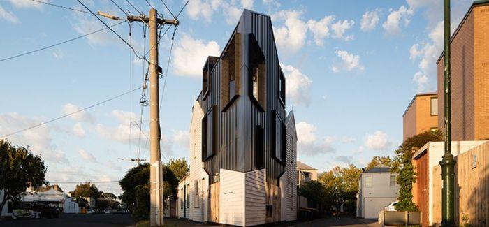 改造一块锐角三角地上的老房子