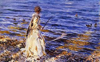 他终身未娶 被誉为全世界最杰出的肖像画大师