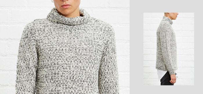 宅男范儿的高领毛衣  这样搭才能变身型男
