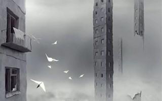 未来的世界 天空之城