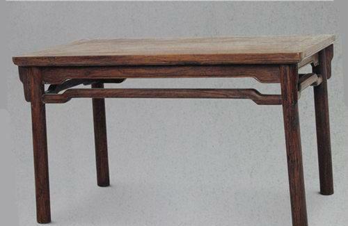 明式家具一腿三牙桌子的嬗变
