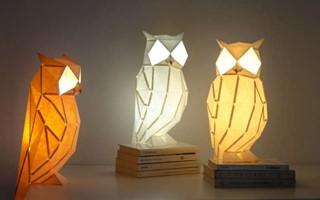 单身者的冬季浪漫!折纸动物灯把丛林带进房间