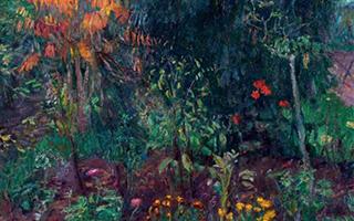 高更的觉醒:《花园一角》