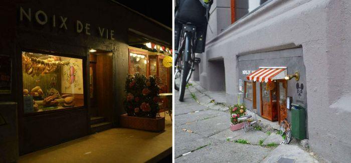 在瑞典的街头有两间