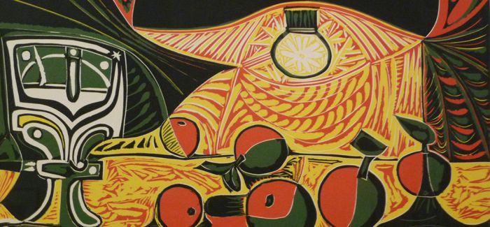 毕加索的挚爱:《灯下的女人(杰奎琳)》
