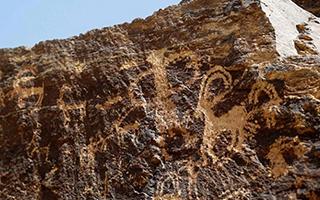 伊朗考古学家称发现世界最古老岩画 距今4万年