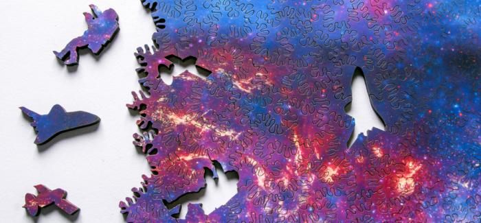 魅力的无穷尽:永远拼不完的银河系拼图