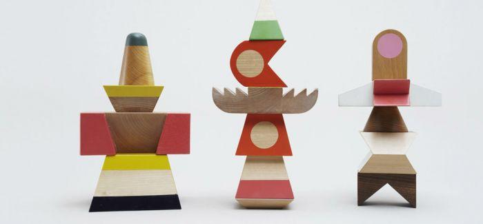 充满想象力的木制玩具
