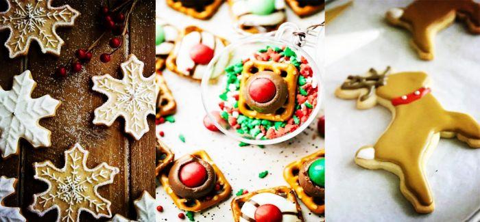 圣诞饼干的色彩