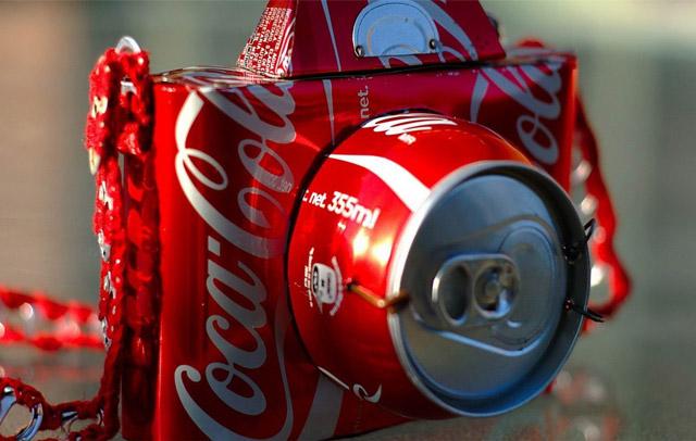 教你用易拉罐手工制作相机模型_设计_生活方式_凤凰