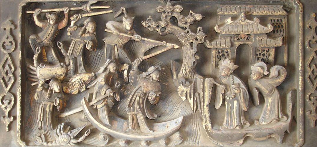 600多年前的明代木雕藏玄机