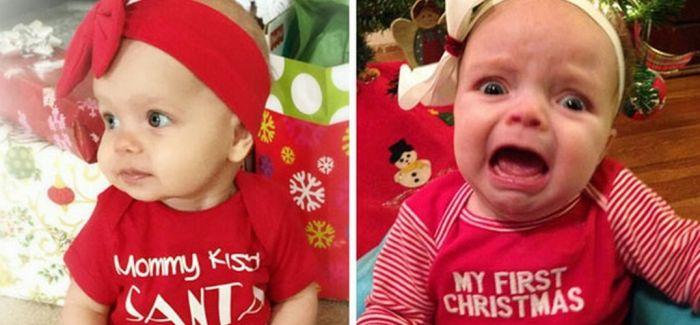 期望与现实:圣诞宝贝拍摄失败花絮