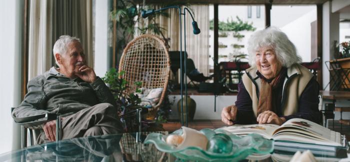 建筑师Gawie Fagon和妻子的百岁退休计划