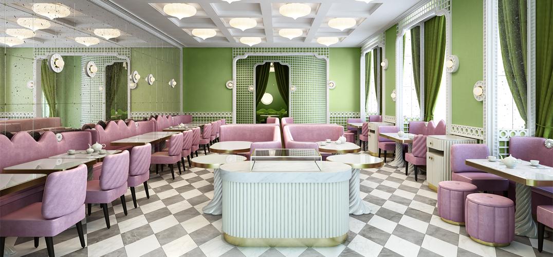 日内瓦河畔的Ladurée四季酒店