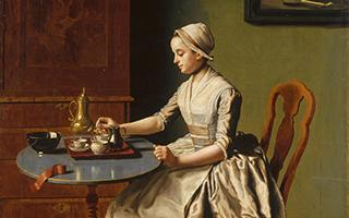 """英国放行利奥塔尔""""早餐女孩""""  为最后一幅私人收藏"""