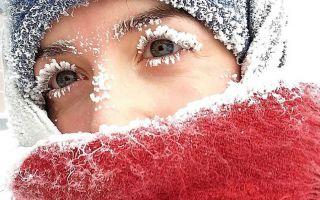 """零下62度的时尚 西伯利亚""""冰冻睫毛"""""""