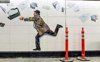 纽约第二大道地下铁化身美术馆