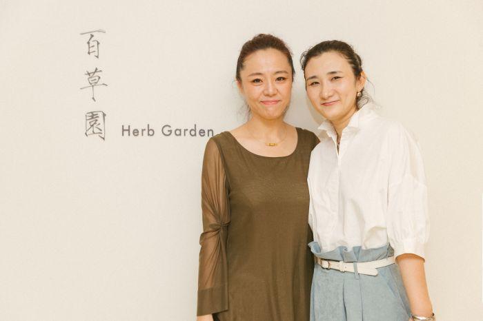 艺术家章燕紫和高茜合影-001