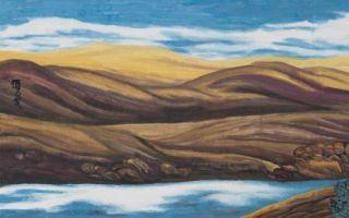 色彩之谜:杨佴旻水墨画展于12月25日在寿光弘川美术馆开展