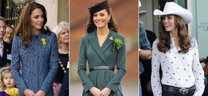 凯特王妃和她的 35 条裙子轻松搞定了一整年的优雅