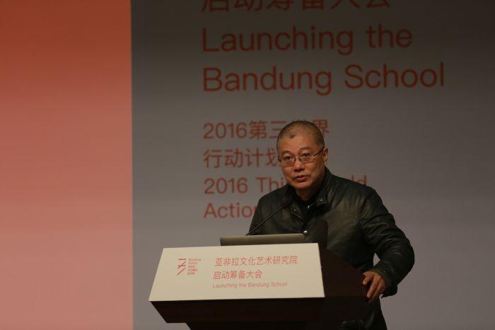 中国美术学院许江院长发表开幕式致辞