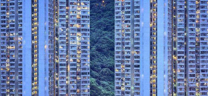"""外国摄影师三年间拍出这组神秘的香港""""蓝色瞬间"""""""