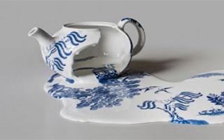 """用""""暴力""""打磨的艺术品——当陶瓷遭遇飞来横祸"""