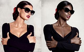 黑人模特通过时尚摄影翻拍为我们证明美的多样性