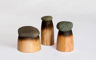 善用本地木材鹅卵石 打造家居储物盒
