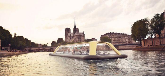 巴黎漂浮别致又有趣的概念健身房!