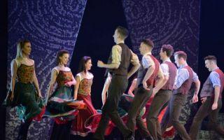 《大河之舞》2016西安首演嗨翻地板 世界第一舞剧点燃古都激情