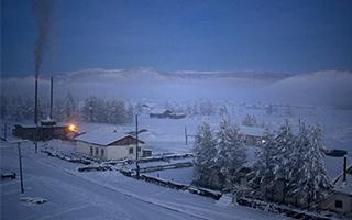 俄罗斯奥伊米亚康极寒之地
