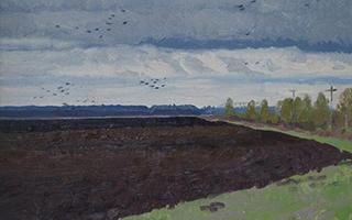 俄罗斯精品油画展在青州宋城界山艺术馆开幕