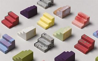 由3D打印模具生产出丰富多彩的巧克力
