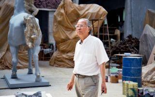 著名雕塑家、四川美术学院原院长叶毓山逝世