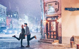梦幻的冬日莫斯科