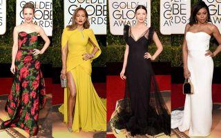 从金球奖看2017红毯趋势 小黄裙异军突起金属色称霸红毯