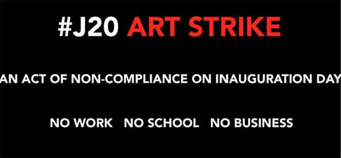 """130位美国艺术巨头欲""""艺术罢工""""反对特朗普"""