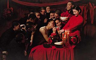 """他的作品完美演绎了""""最美还是中国红"""""""