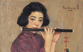 中国女画家一幅画驰誉法国