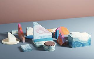 George Stoyanov的彩色抽象数字