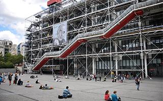 蓬皮杜宣布将花费1.08亿美元翻新建筑庆祝开馆40周年