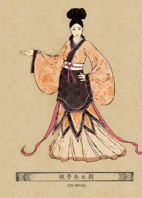 湘设计 服装设计     从东汉社会上层看来,袍服转入制度化,似乎比西汉