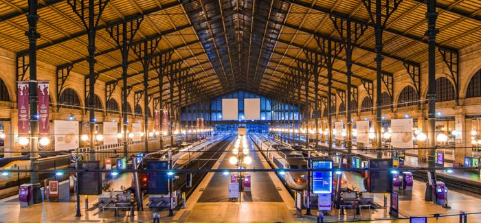 气质优雅的火车站都在这儿!