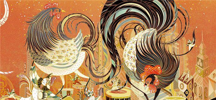 苹果的鸡年中国风设计 不玩极简也惊艳!