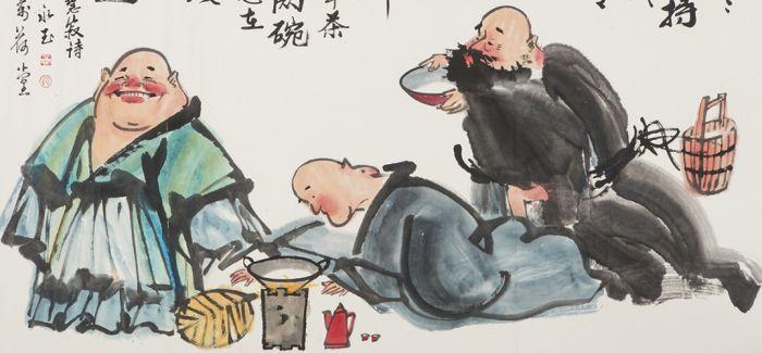 黄永玉:喝不喝酒是人和野兽最大的区别!