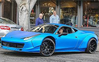 """贾斯汀·比伯""""遗失""""法拉利458 Italia即将拍卖"""